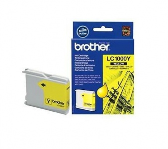 Brother LC-1000Y Geltona, 400 psl.
